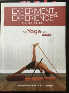 H.S Arun's book on Chair Yoga